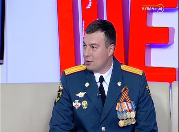 Начальник пресс-службы ГУ МЧС России по Краснодарскому краю Никита Гавриляк: пожарный — человек, готовый посвятить себя профессии на 100%