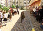 В краснодарском детском саду устроили шествие в честь Дня Победы