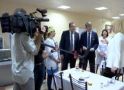 В Краснодаре вице-губернатор Анна Минькова посетила геронтологический центр