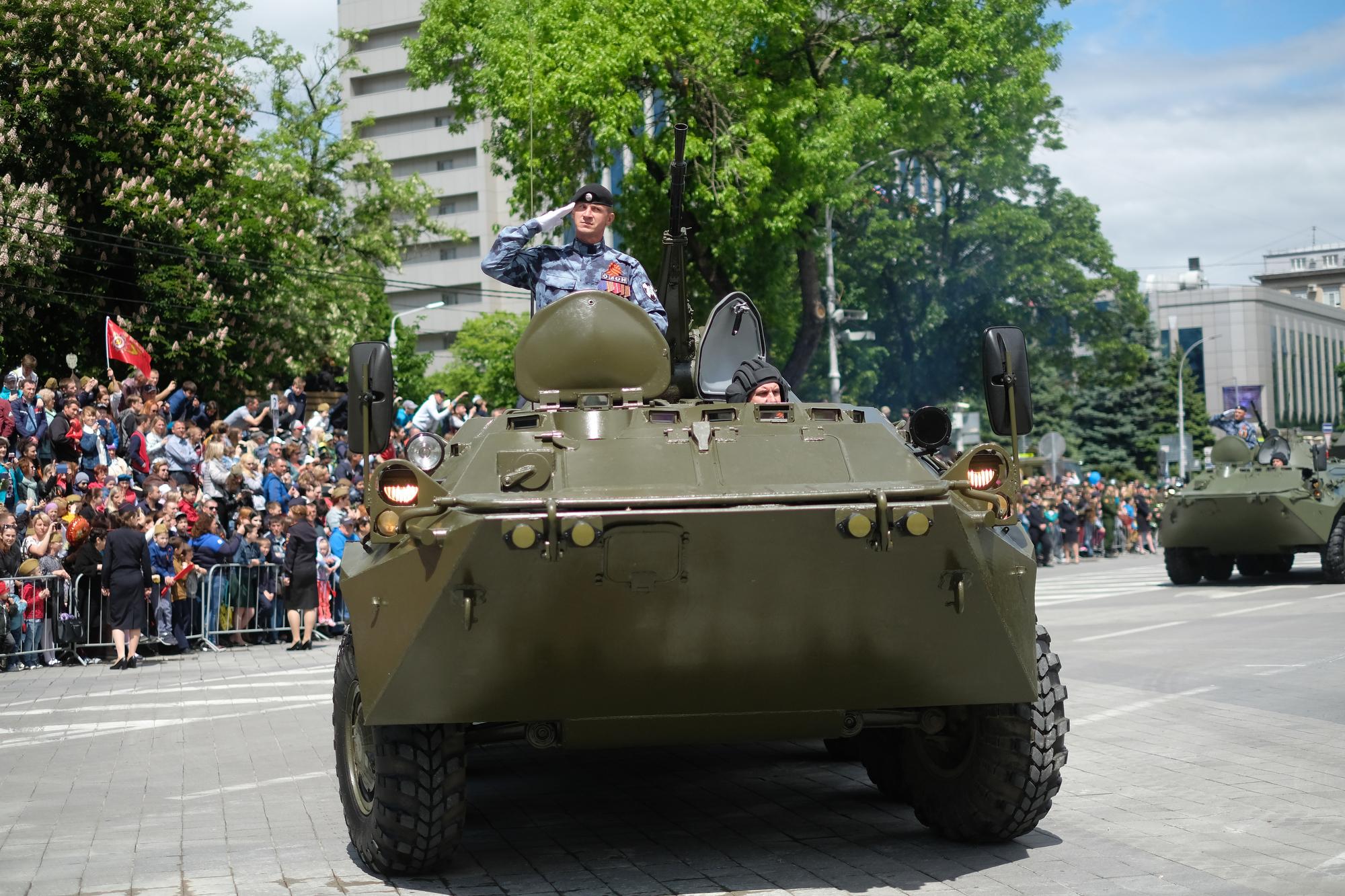 Парад Победы в Краснодаре — 2019