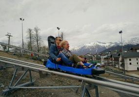 На сочинском горном курорте «Роза Хутор» открылся летний курортный сезон