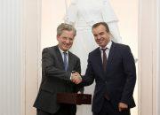 Вениамин Кондратьев встретился с делегацией немецкой группы компаний Bosch