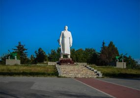 В Крымском районе на Сопке Героев в целях безопасности потушили Вечный огонь