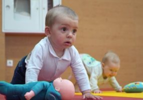 В Новороссийске прошли соревнования по бегу для детей до трех лет
