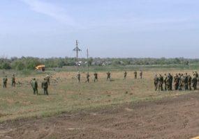 В Каневском районе стартовали военно-полевые сборы для школьников