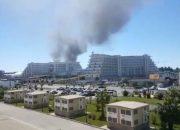 В Сочи потушили крупный пожар в районе центра «Сириус»