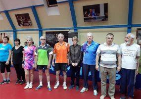 В Краснодаре прошли краевые соревнования пенсионеров
