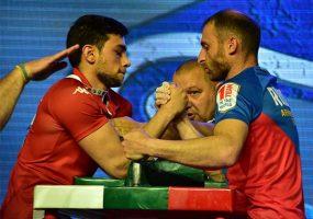 Кубанец стал чемпионом Европы по армрестлингу