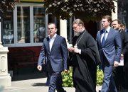 Кондратьев посетил русскую православную школу в Краснодаре