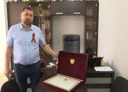 В станице Медведовской фермер получил почетную грамоту президента РФ