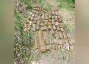 В станице Полтавской найдены более 120 снарядов времен войны