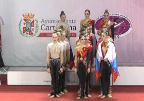 Кубанская команда взяла золото на соревнованиях по гимнастике в Испании
