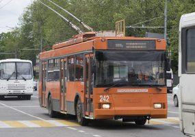 В Краснодаре по улице Красной вместо обычных троллейбусов пустят электробусы