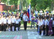 В Кореновском районе Николай Долуда посетил казачью школу № 14