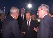 Глава Австрии прибыл в Сочи с официальным визитом