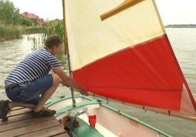 Житель Тимашевска стал капитаном самодельного судна