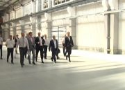 В Краснодаре немецкая делегация посетила «Южный завод тяжелого станкостроения»