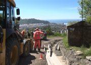 В Туапсе идет реконструкция дорог, разрушенных паводком в октябре 2018 года