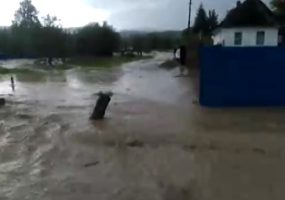 В Мостовском районе из-за дождей объявлен локальный режим ЧС