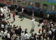 На вокзал в Краснодаре приехал «поезд БЕЗопасности»
