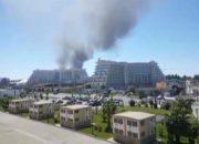 Пожар в районе сочинского центра «Сириус» нанес арендаторам миллионный ущерб