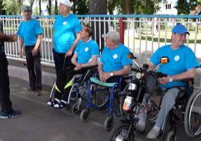 Ленинградский район впервые принял спортивные соревнования для инвалидов