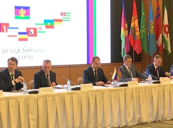 В Сочи завершилась конференция Южно-Российской парламентской ассоциации