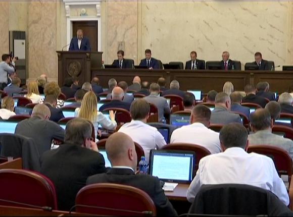 В Краснодаре прошла 23-я сессия Законодательного собрания края