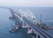Железнодорожную часть Крымского моста откроют раньше срока