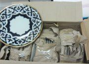 В аэропорту Сочи таможенники задержали партию посуды из Узбекистана