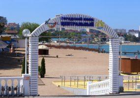 В Геленджике площадь оборудованных пляжей увеличилась на 40 тыс. кв. м