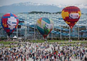 Фестиваль воздушных шаров в Сочи