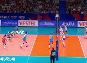 Сборная России по волейболу в Лиге наций уступила соперникам из Турции
