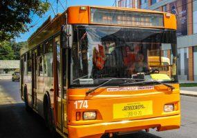 В мэрии Краснодара рассказали о ситуации с троллейбусной линией на улице Красной