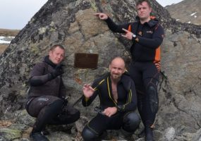 Кубанцы установили мировой рекорд высокогорного подледного дайвинга