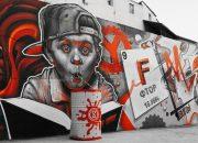 В Сочи появилось граффити о работе человеческого мозга