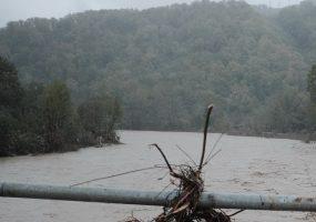 В нескольких районах Кубани на реках ожидается повышение уровня воды