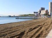 В Новороссийске 28 мая открыли городской центральный пляж