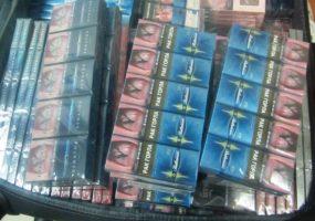 В аэропорту Сочи в чемоданах пассажиров нашли 340 блоков контрафактных сигарет