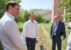 Кондратьев поручил сделать проект парка в Молодежном микрорайоне Краснодара