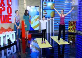 Фитнес-тренер Светлана Бутова: детский фитнес корректирует осанку