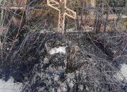 В Новороссийске на кладбище сгорела могила, полиция проводит проверку