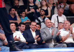 Кондратьев посетил первый фестиваль борьбы «Кубок чемпионов»