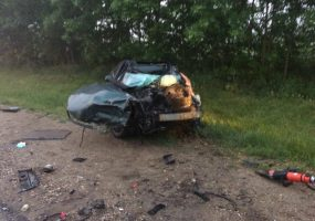 В Апшеронском районе при столкновении иномарки с грузовиком погиб мужчина