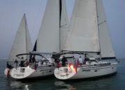 В Крыму столкнулись три яхты на регате «Золотое кольцо Боспорского царства»
