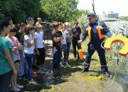 В Краснодаре спасатели расскажут школьникам о безопасности на воде