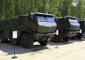 На конкурсе «Чистое небо» на Кубани впервые покажут бронеавтомобиль «Тайфун-ПО»
