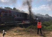Пассажиров столкнувшегося с грузовиком поезда из Адлера отправили в Краснодар