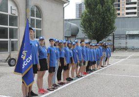 В Новороссийске открылся юнармейский лагерь ДОСААФ