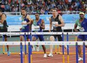 Кубанский атлет Шубенков в падении на финише выиграл забег в Марокко. Видео